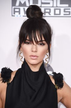Kendall Jenner Got Bangs  - ELLE.com