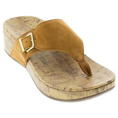 d8a7c55dbe80 The Vionic Marbella is a fun and comfortable sandal with velvety soft suede  uppers and a