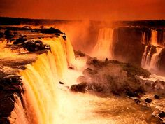 The Victoria waterfalls, Zambia