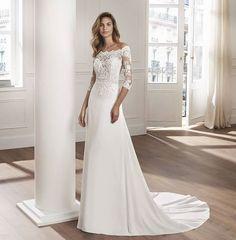 149eabffe415  Lunanovias 2019  RosaClara   group   La collezione ideale per una sposa  alla ricerca