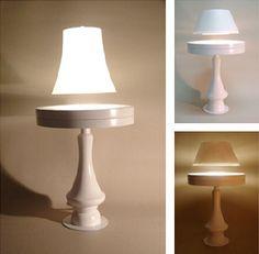 Crealev builds a levitating lamp