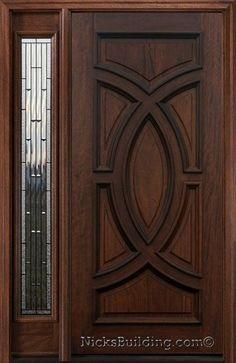 interesting brown theme main door design with beautiful handmade rh pinterest com