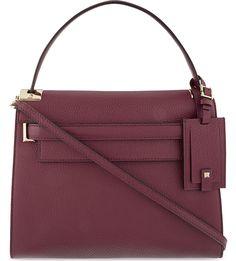 VALENTINO - My Rockstud grained leather satchel | Selfridges.com