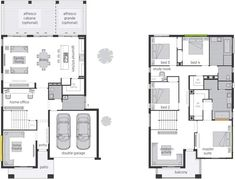 Saxonvale offers an individual accommodation & adjoining private Ensuites for all the family members. Browse through the floor plan now and enquire online. Mcdonald Jones Homes, Bridgetown, Storey Homes, The Hamptons, House Plans, Floor Plans, House Design, Australia, Flooring