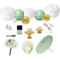 With the feminine scent of #peonies filling the air, dress your event in #mintgreen & gold for a cheerful and classic vibe.   http://www.lunabazaar.com/get-the-look.aspx  #brides #bridetips #Spring #weddings #weekendbrunch #mint #katespade  #gold #lunabazaardecor #decor #decoratewith #partysupplies #partyideas