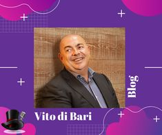 """We're so excited to work with world renowned Futurist, Vito di Bari. See one of his latest blogs here: """"My Mother and Facebook"""". He's now available to speak - digitally, course - in South Africa. Contact us for rates and availability."""