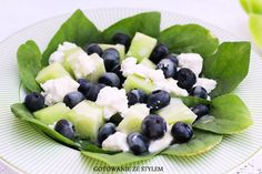 Sałatka z melonem Ricotta, Fruit Salad, Cooking, Food, Kitchen, Fruit Salads, Essen, Meals, Yemek
