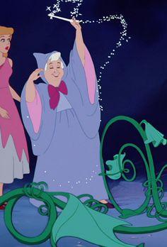 *CINDERELLA & FAIRY GODMOTHER ~ Cinderella (1950)