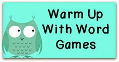 More Vocabulary Ideas to Whoot About