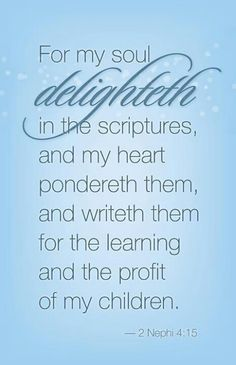 I love the Word of God!! I take in the Word for my children!