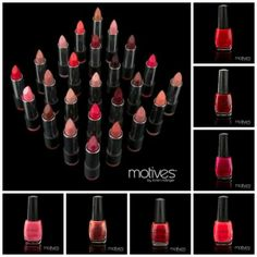 What Makes Motives for La La Nail Lacquer  AND Lip Colours Unique? they provide you with long-lasting, bold colors handpicked by La La herself. Add vibrant color and sparkle to your nails and lips for a sexy, stunning look no matter the occasion. These perfect colors glide on smooth for a brilliant, chip-free finish that is long lasting. Look your best with the hottest colors from Motives for La La Nail Lacquer and Lip Colours , and have some fun!