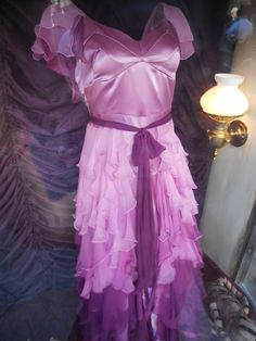 This is the actual dress worn by Emma Watson for the Yule Ball.