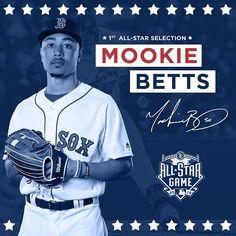 Mookie's joining JBJ in the outfield! #YaBettsBelieve 7/5/16