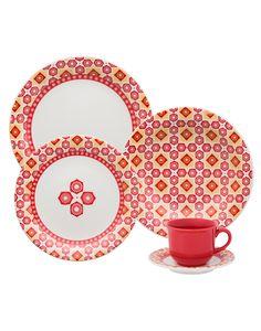 Oxford Porcelanas - Floreal Cocina 20 peças
