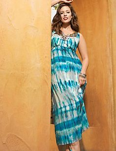 Jewel neck maxi dress - shine bright like a diamond