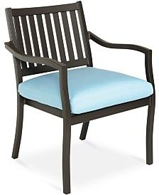 Holden Aluminum Patio Furniture, Outdoor Dining Chair