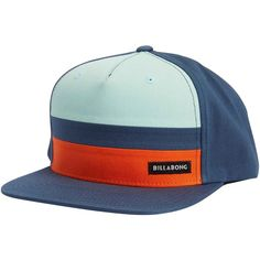 30443388c7f Billabong Unisex Tribong Snapback (120 RON) ❤ liked on Polyvore featuring  accessories