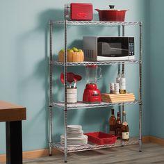 Ideas para ahorrar espacio en tu cocina. Organizador para cocina. Estantes multiusos, ¡tú eliges!