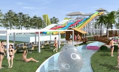 AEL Waterpark, Larisa Projects, Fun, Travel, Log Projects, Blue Prints, Viajes, Trips, Traveling, Tourism