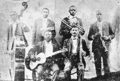 5 New Orleans Jazz artists you may have never heard of before...including Buddy Bolden and his band as pictured.