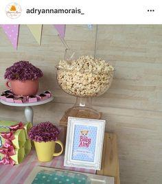 Decoração by Adryanna Morais Festa Baby Alive, Place Cards, Place Card Holders
