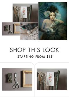 """""""Feeling Blue"""" by vegetarian-wolf ❤ liked on Polyvore featuring interior, interiors, interior design, home, home decor and interior decorating"""