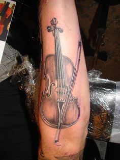 Violin tattoos - Google Search
