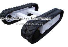 Rubber track undercarriage system (KGRT-3000) - China Rubber tracks, Bonny Frances
