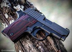 Manufacturer: Sig Sauer Mod. P238 Type - Tipo: Pistol Caliber - Calibre: 380 ACP Capacity - Capacidade: 7 Rounds Barrel length - Comp.Cano: 3 Weight - Peso: 569 g @sigsauerusa...