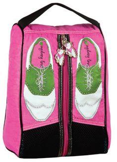 Sydney Love Ladies Golf Shoe Bags - Pink Sport
