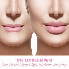 Get luscious lips with a DIY lip plumper! #womensblog