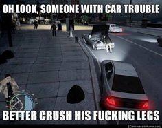 Somone With Car Trouble - http://controversialhumor.com/somone-with-car-trouble/ #FunnyPictures, #GtaCars, #Humor, #Meme, #Memes