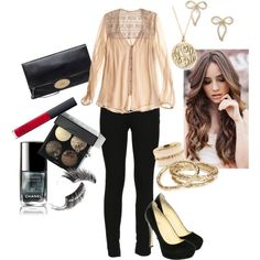 """""""Girls Night Out"""" by angela-reiss on Polyvore"""
