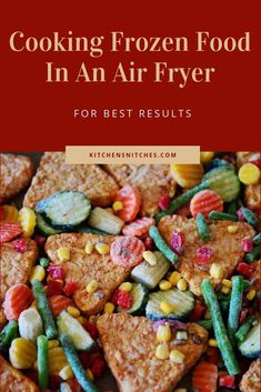 Air Fryer Oven Recipes, Air Frier Recipes, Cook Frozen Steak, Air Fryer Cooking Times, Food Charts, No Calorie Snacks, Frozen Meals, Cooking Instructions, Food Lists