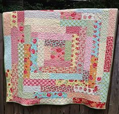 """giant trip quilt 9 inch center with 4.5"""" strip width. 64"""" square My Quilt Infatuation: Ring Around the Rosy"""