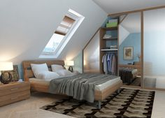 Enjoy Attic Bedroom Ideas Absolutely A Attic Spaces, Attic Rooms, Escape Room, Fitted Bedrooms, Bed Styling, Bedroom Decor, Bedroom Ideas, Cozy, Living Room