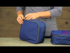 lightweight packing cubes with an extra compression zipper for even more compression.