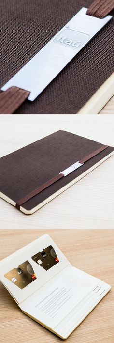 "Welcome Kit ""Moleskine"" Itaucard Private Bank"
