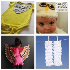 Owl costume. DIY. Kids.