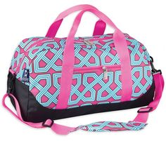 0b43d3f4011d Personalized Duffel Bag by Wildkin. This Personalized Overnight Duffel Bag  from Wildkin makes a great overnight or athletic bag for any child.