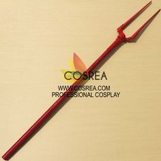 Item Detail EVA Longinus Lance Cosplay Prop Includes - Prop Set Length - 160CM Important Information: Primary Material - EVA, PVC, Light Wood, PU Leather Safety - All props are made with convention/ev