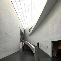 Museum of Modern #Art by @stevenhollarchitects in #Helsinki, #Finland (1998)  - pls check blog