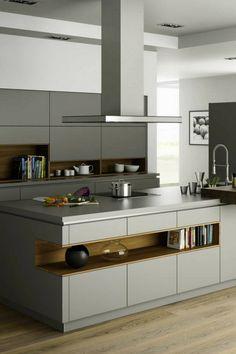 Die 30 besten Bilder von Graue Küchen | Grey kitchens, Scandinavian ...