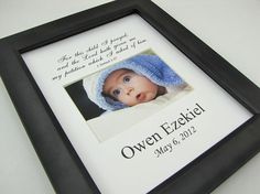 For this child I prayed Custom  8 x 10 Photo Mat Design Cust 18