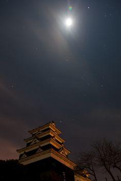[Ozu Catsle] - 愛媛・大洲城 - Ozu, Ehime, Japan Tokugawa Ieyasu, Ehime, Sun View, Japan Landscape, Osaka Castle, Japanese Castle, Nice Photos, Rising Sun, Nihon