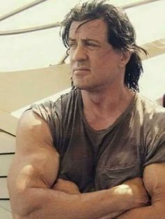 Wily - craft, sly Sly is a nickname for Sylvester Stallone Pretty Men, Gorgeous Men, Silvestre Stallone, Sylvester Stallone Rambo, Rocky Series, Senior Bodybuilders, John Rambo, Action Movie Stars, Bollywood Actress Hot Photos