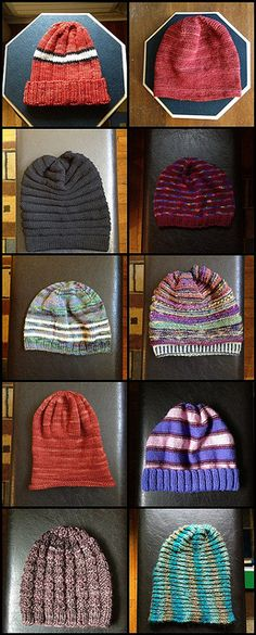 100 hats from stash_5 by hilpalny, via Flickr