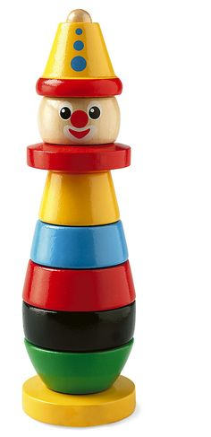 Take a look at this classic stacking clown. This gorgeous bright and colourful stacking clown from Brio teaches fine motor skills, colours and ordering pieces. Toddler Toys, Kids Toys, Brio Toys, Teaching Colors, Stacking Toys, Toys Online, Baby Online, Baby Games, Classic Toys