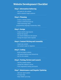 Website Development Checklist #website #checklist #development #process