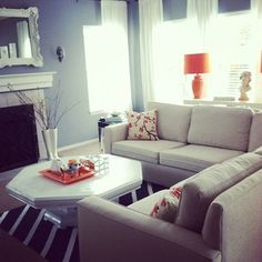 apartment furniture layout? staging.